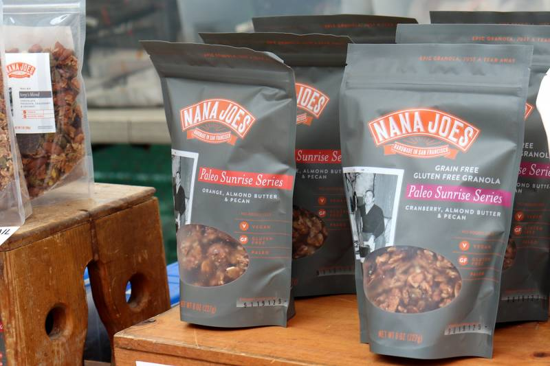 For the health nuts, Nana Joes offers the gift of granola!