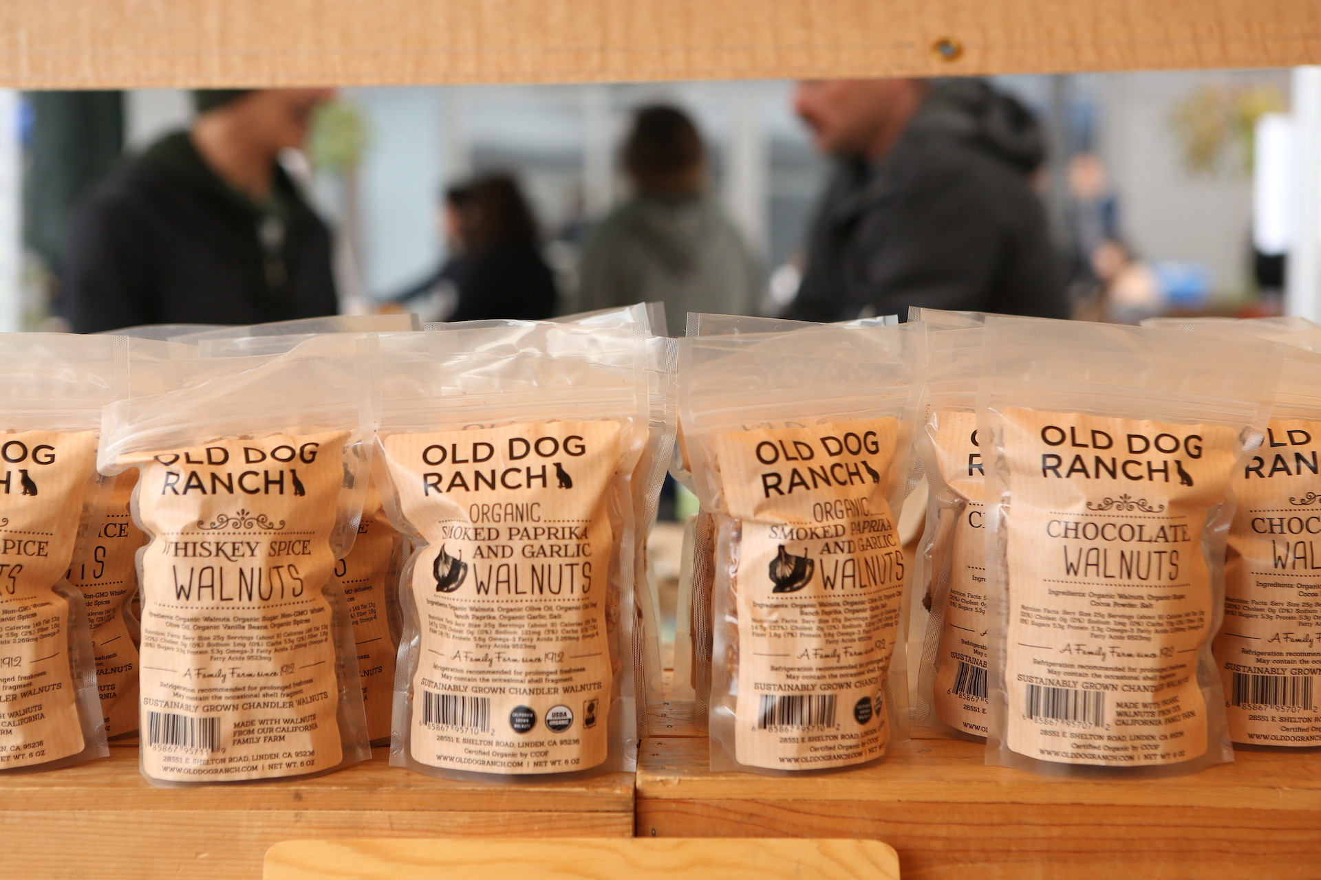 Old Dog Ranch assorted walnut flavors