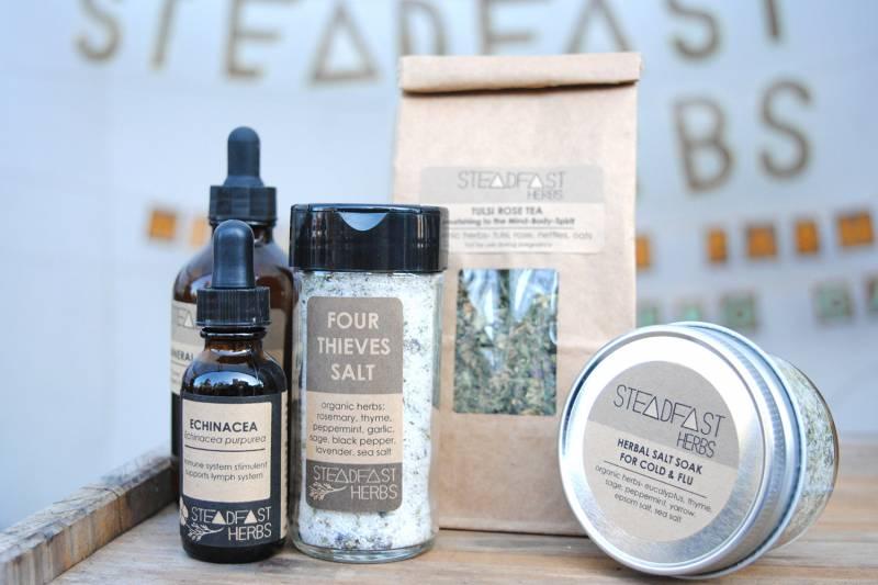 Steadfast Herbs offers healing gift options.