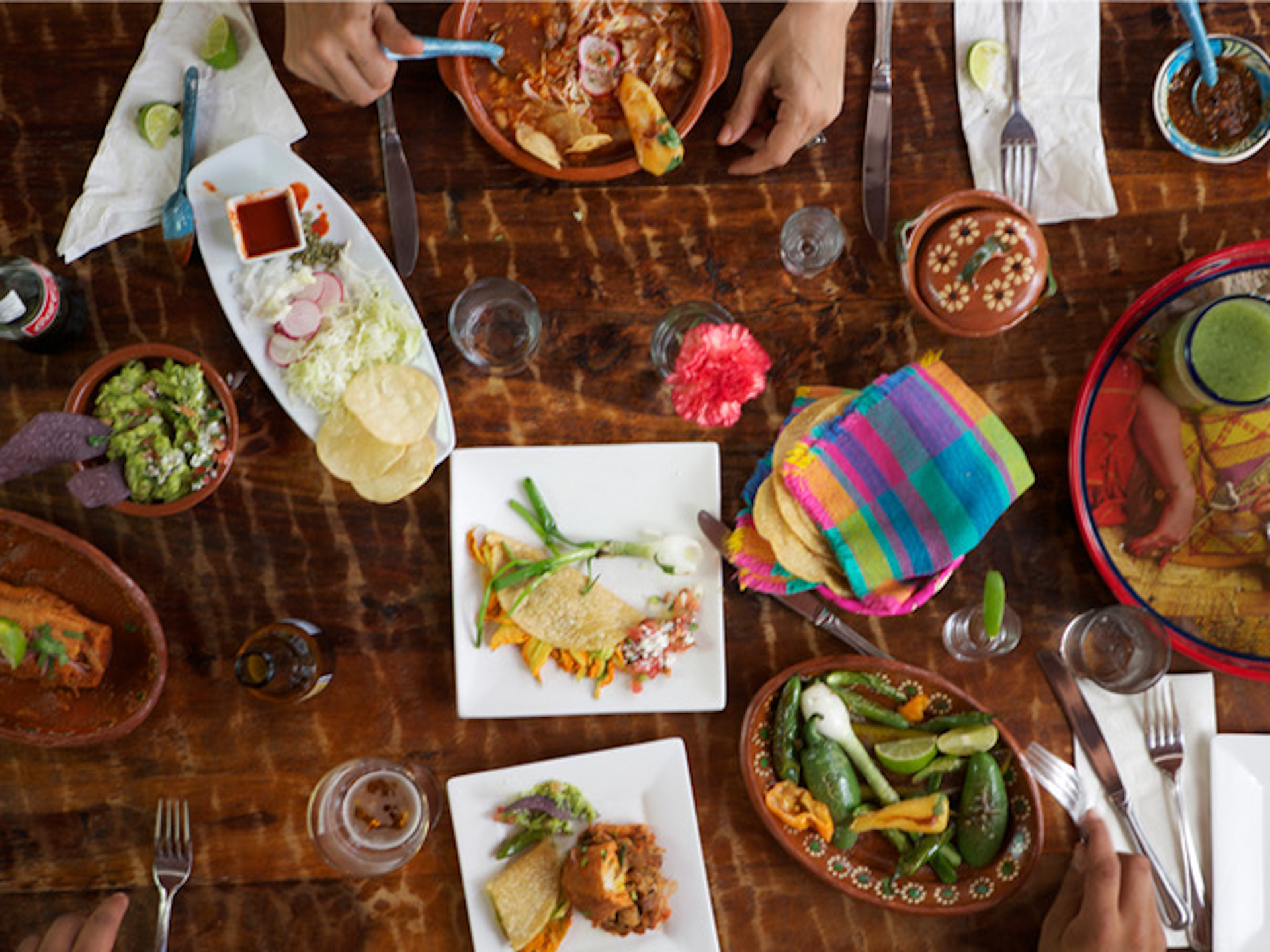 A spread at Oakland's Tamarindo Antojeria which is set to close at the end of the year.