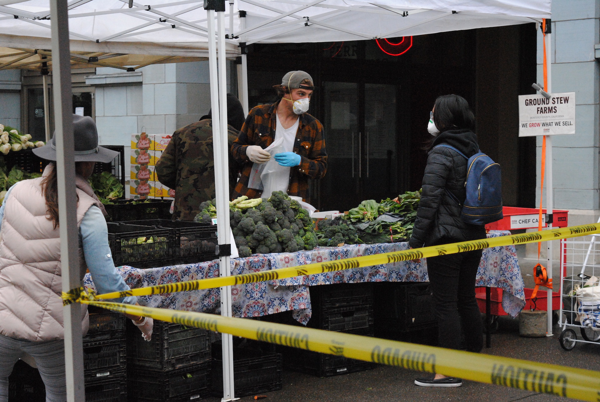 Many small farmers across the state depend on farmers markets and restaurants orders that have depleted since shelter-in-place was instituted.
