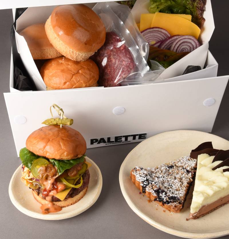 Burger box from Palatte