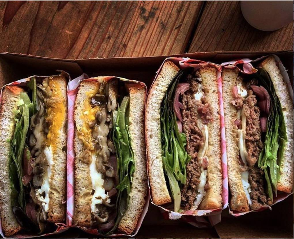 In Half Moon Bay, Dad's Luncheonette is offering their sandwiches and rotating wares from small producers. Dad's Luncheonette