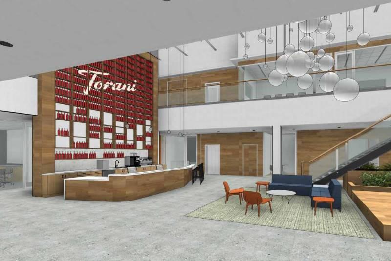 Sketch of the Torani lobby