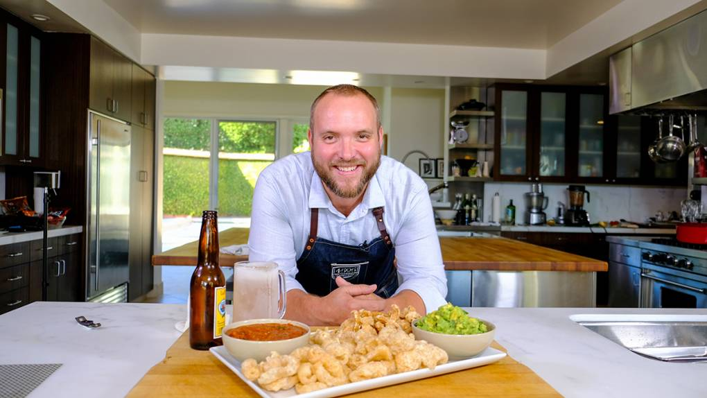 Celebrity Chef Recipes: Ryan Farr's Picnic Guacamole with Pepitas and Crunchy Cracklins | KQED