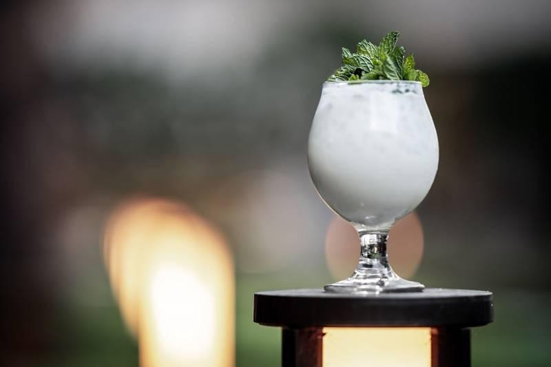 coconut milk cocktail