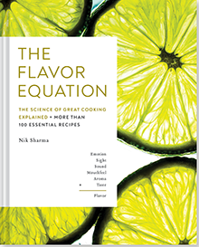 The Flavor Equation cookbook cover