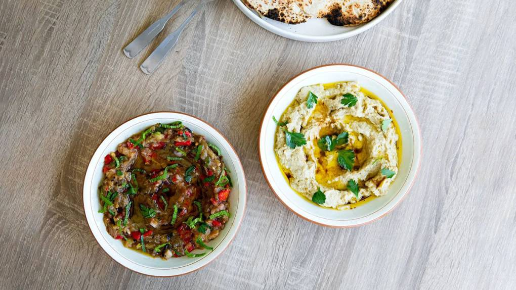 Cooking Video: Make baba ganoush two ways with chef Reem Assil of Reem's California | KQED