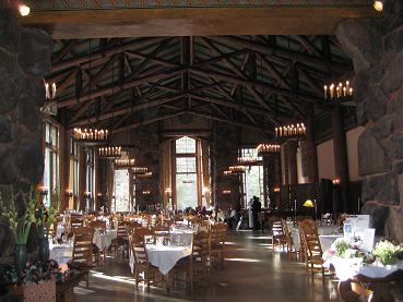 The Ahwahnee Dining Room
