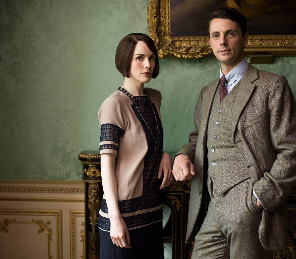 Mary Crawley and Henry Talbot