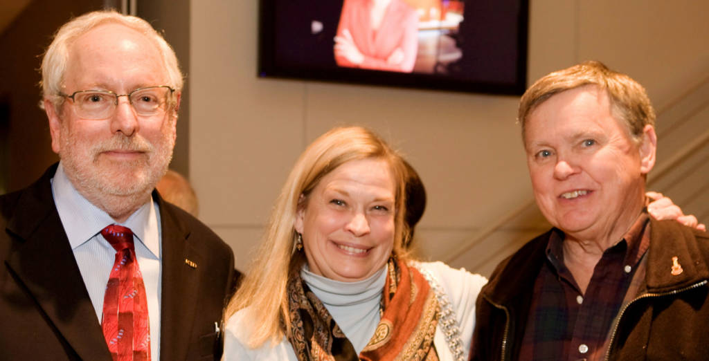 Earl Blauner with David and Claudia Chittenden
