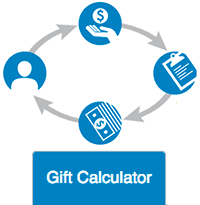 gift calculator button