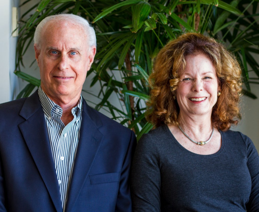 Former KQED Board Chair Chuck Kissner and his wife Cary Orr-Kissner