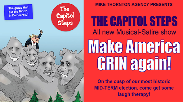 Capitol Steps: Make America Grin Again