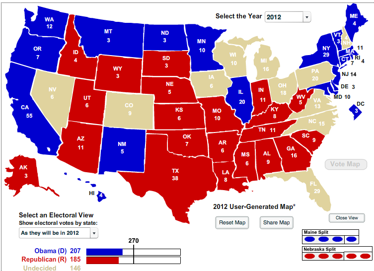 The Battleground States: Where It All Goes Down