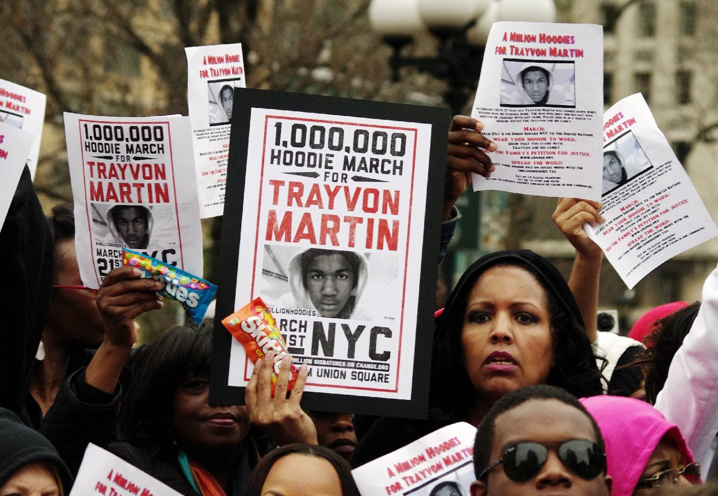 Reactions to Verdict in Trayvon Martin Case Split Sharply Along Racial Lines