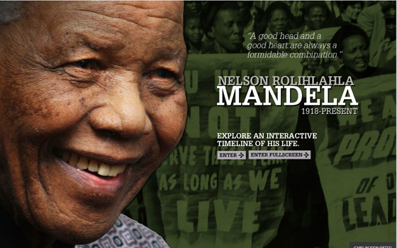 Six Great Multimedia Resources on Nelson Mandela