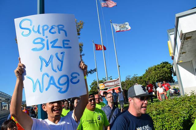 In One-Day Strike, Fast-Food Workers Demand A Living Wage