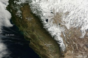 NASA satellite image from Jan. 18, 2013.