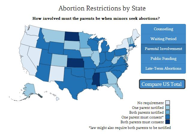 America S Confusing Patchwork Of Abortion Laws A Map Of State Rules