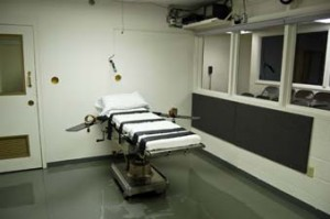 Oklahoma execution room (OK Dept. of Corrections)