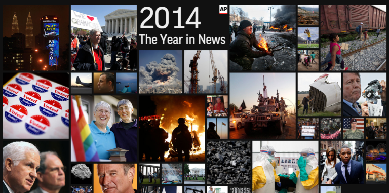 News That Moved: The Biggest Stories of 2014
