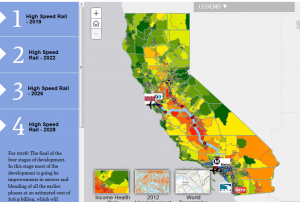 Map Of California High Speed Rail.Preview What Different Stages Of California S High Speed Rail Will