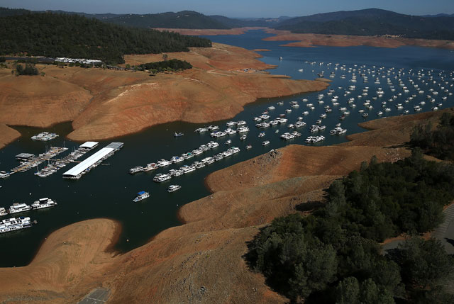 """Visualization: Now that California's """"Rainy Season"""" is Over, How Do Those Reservoirs Look?"""