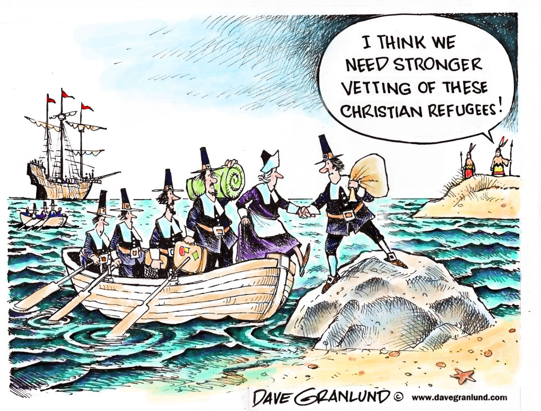 Were the Pilgrims America's Original Refugees?