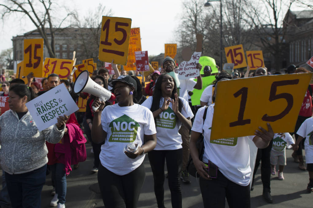 Map Raising The Minimum Wage With Lesson Plan