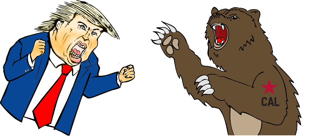 California Versus Trump: Get Ready to Rumble (with Lesson Plan)