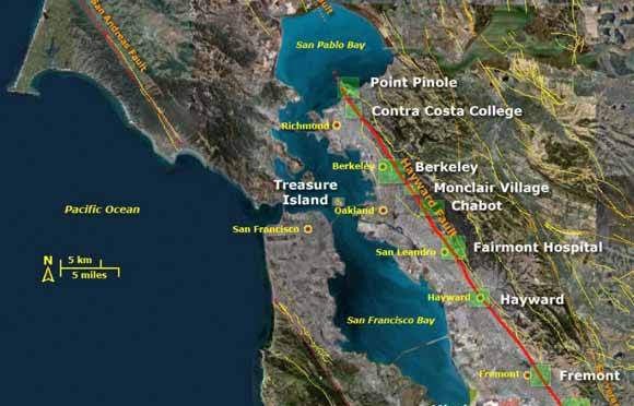 Interactive Earthquake Map: Get to Know Your Local Faults