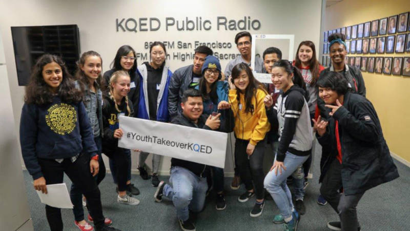 It's Really Happening! This Is What KQED's Youth Takeover Looks Like