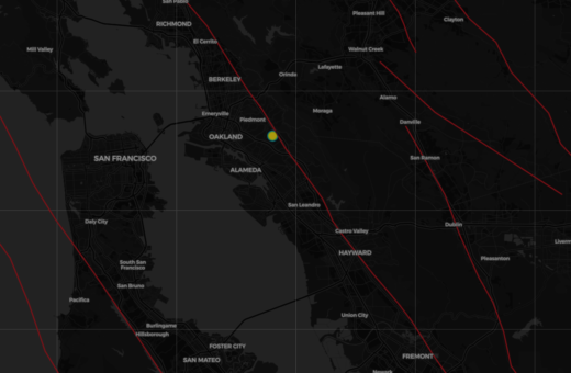 Real Time Interactive Earthquake Map Get To Know Your Local Faults