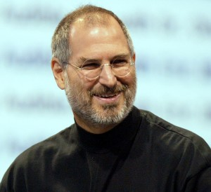 Steve Jobs announces the availability of iTunes for PC computers in October, 2003. He was diagnosed with cancer the same month. (Justin Sullivan/Getty Images)