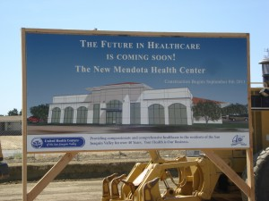 Health clinic expansion coming in Mendota. (Photo: Sam Rubio)