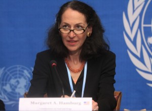 Margaret Hamburg, FDA Commissioner. (US Mission Geneva: Flickr)
