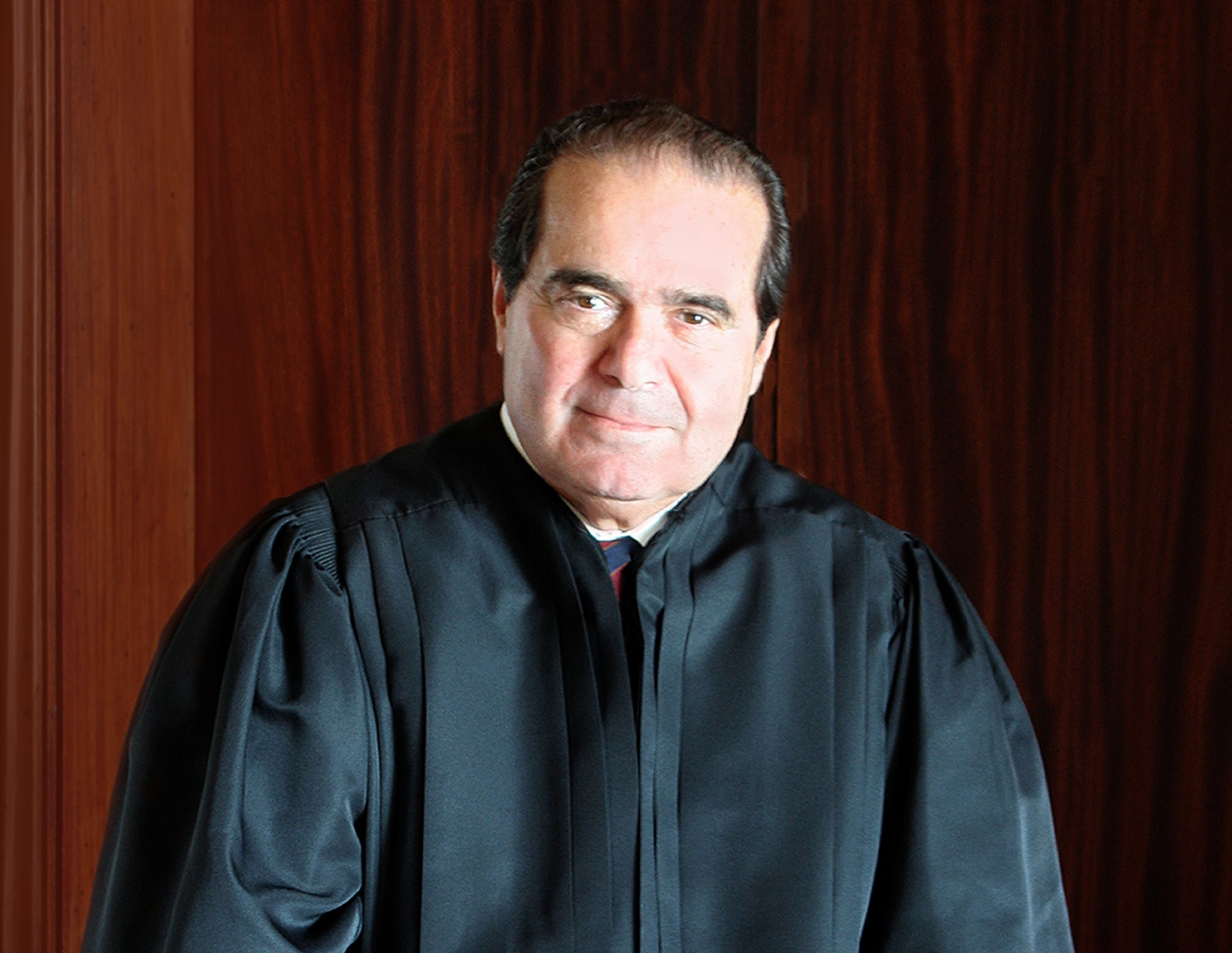 Supreme Court Justice Antonin Scalia was one of the justices making the occasional joke today. (Courtesy: U.S. Supreme Court)
