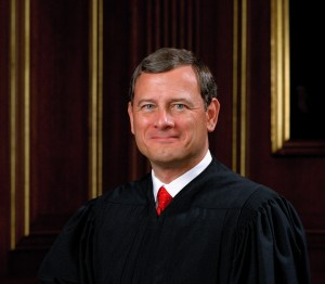 Chief Justice John Roberts is emerging as a potential swing vote. (Courtesy: U.S. Supreme Court)