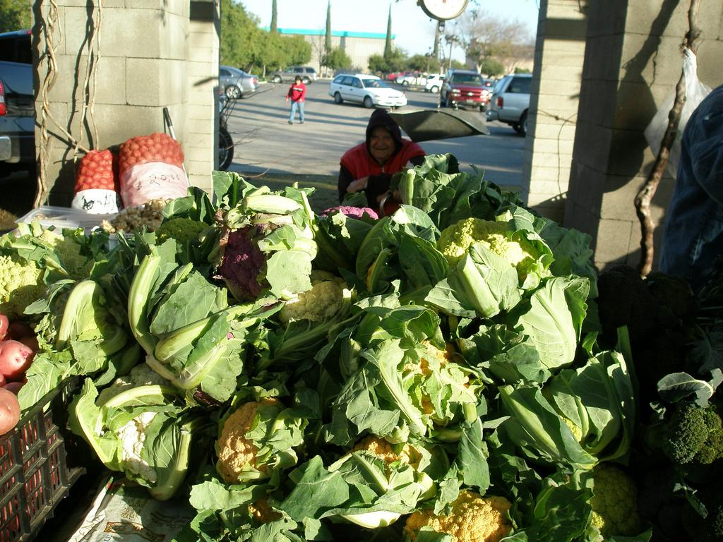Farmers' Market in Fresno. (David Prasad: Flickr)