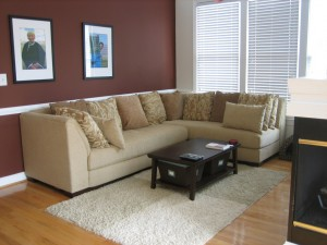 The average-sized couch contains up to two pounds of flame retardant chemicals. (Frank Jania: Flickr)