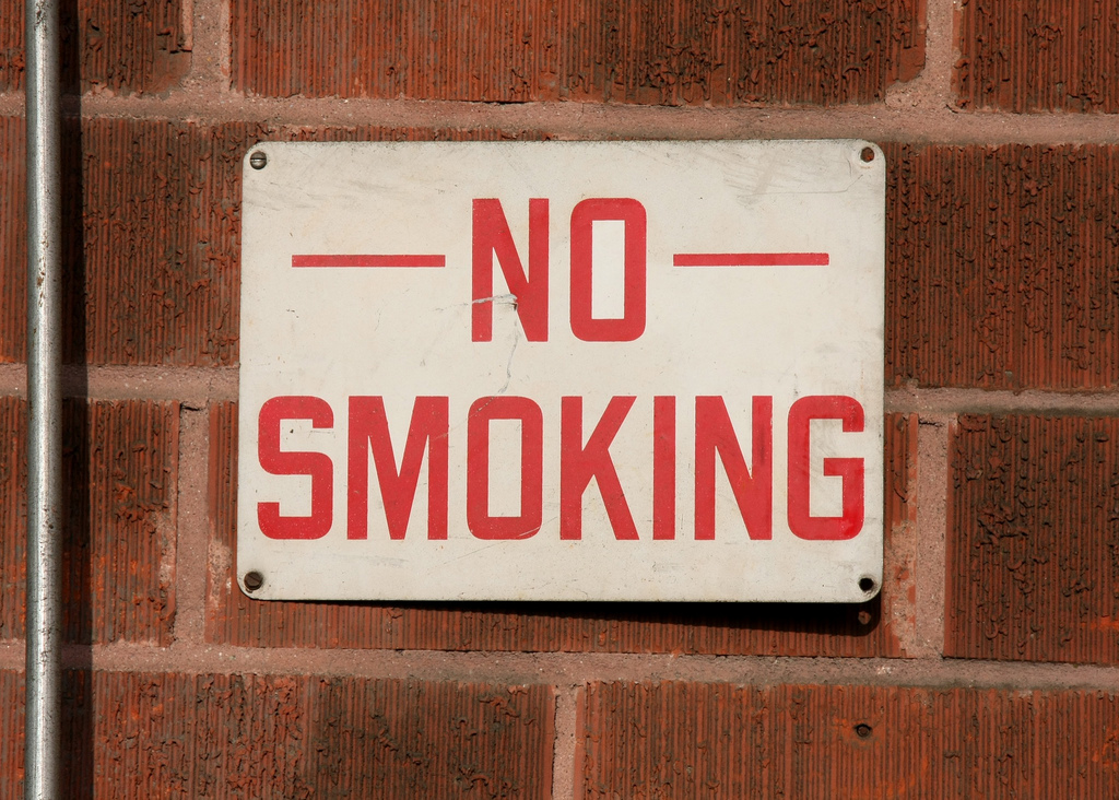 Ninety percent of current smokers tried their first cigarette before turning 18. (Dave Whelan/Flickr)