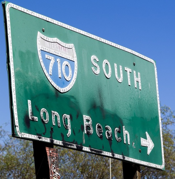 A draft environmental impact report about an expansion to the Los Angeles basin's 710 freeway was issued last month. (DeanTerry: Flickr)
