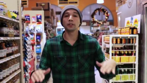 "Still from Jose Vadi's video-poem ""The Corner."""