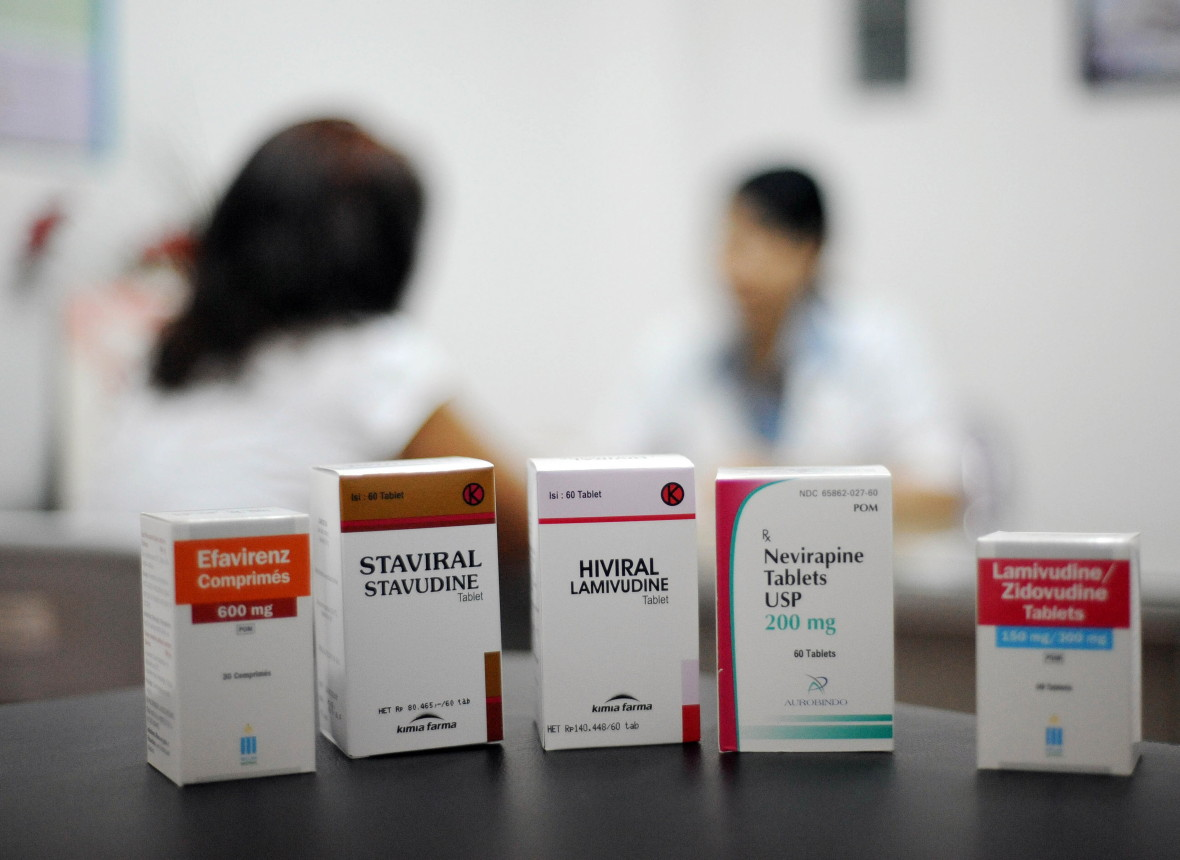 Antiretroviral medicines are used to treat HIV/AIDS. (SONNYTUMBELAKA/AFP/Getty Images)