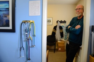 Fred Bauermeister is executive director of the Free Clinic of Simi Valley, which has been providing health care to undocumented immigrants for years. (Lauren Whaley/CHCF Center for Health Reporting)