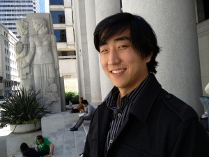 David Kim, brother of KQED health reporter Mina Kim, is 29-years-old and uninsured. (Mina Kim/KQED)