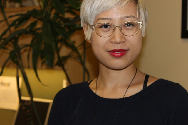 Esme Wang, an award-winning writer, lives with bipolar disorder. (Nora Elmeligy/KQED)