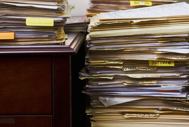 It's not clear when the backlog will be cleared. (Getty Images)