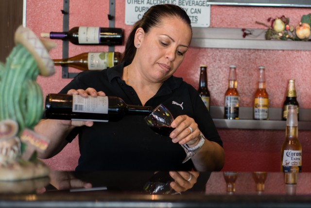 Under the Affordable Care Act Sandra Lopez, 41, owner of Las Fajitas in Newport Beach, obtained health insurance for the first time since arriving in the U.S. in 1990. (Heidi de Marco/Kaiser Health News).